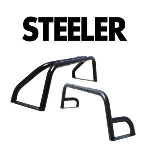 Rollbar din Inox Negru Steeler 4x4