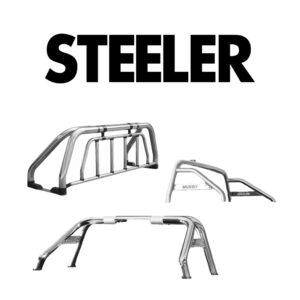 Rollbar din Inox Steeler 4x4