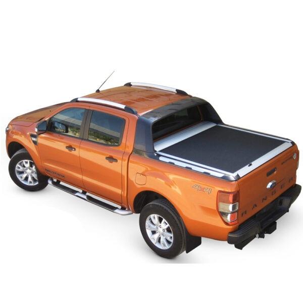 Rulou benă Double Cab argintiu Ford Ranger - '12 - Prezent cu rollbar OEM 2 - 1