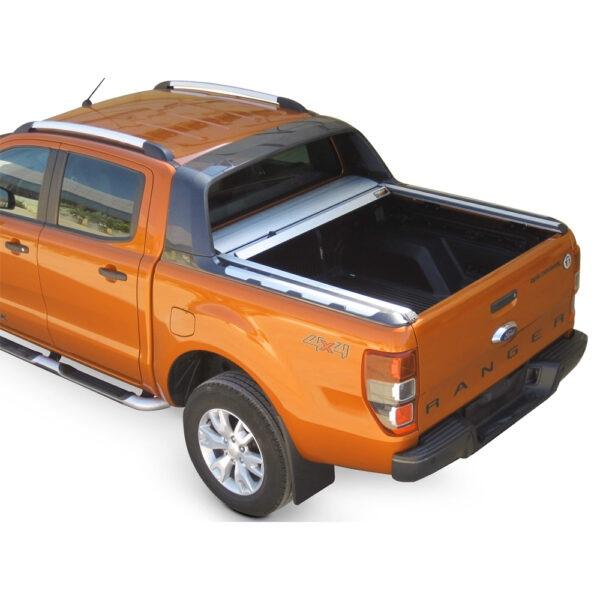Rulou benă Double Cab argintiu Ford Ranger - '12 - Prezent cu rollbar OEM 2 - 2