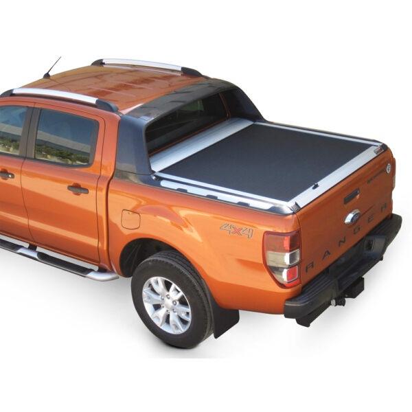 Rulou benă Double Cab argintiu Ford Ranger - '12 - Prezent cu rollbar OEM 2 - 3