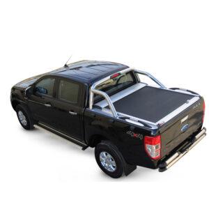 Rulou benă Double Cab argintiu Ford Ranger - '12 - Prezent cu rollbar OEM