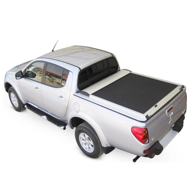 Rulou benă Double Cab argintiu Mitsubishi L200 - '06 - '15 - 1