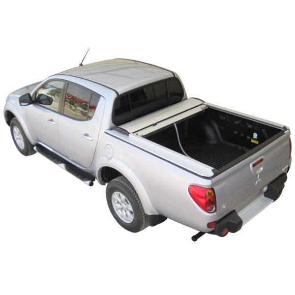 Rulou benă Double Cab argintiu Mitsubishi L200 - '06 - '15 - 2