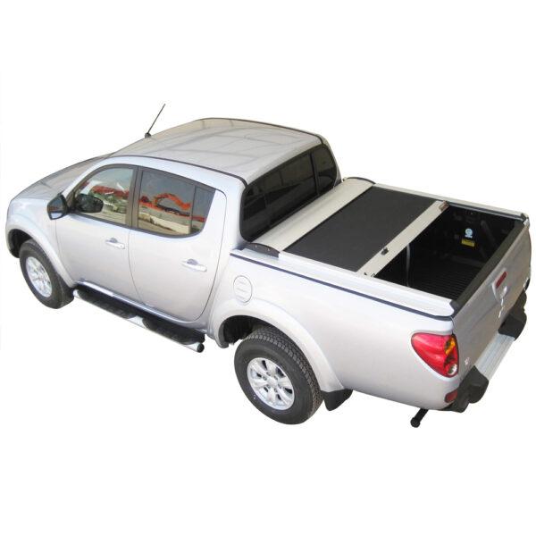 Rulou benă Double Cab argintiu Mitsubishi L200 - '06 - '15 - 4