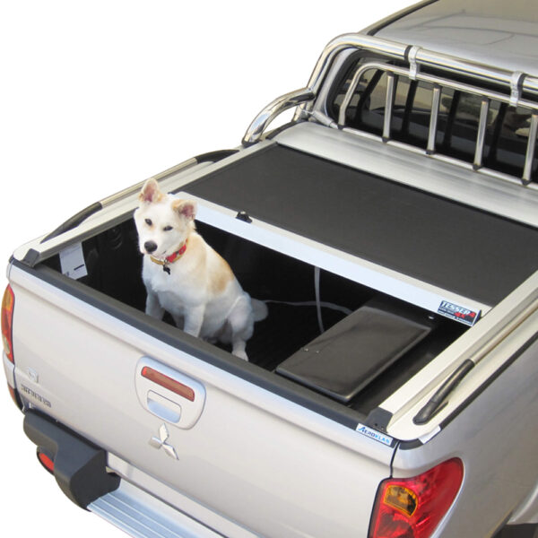 Rulou benă Double Cab argintiu Mitsubishi L200 - '06 - '15 - 5