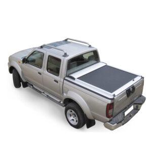 Rulou benă Double Cab argintiu Nissan Navara - '97 - '04 - 3