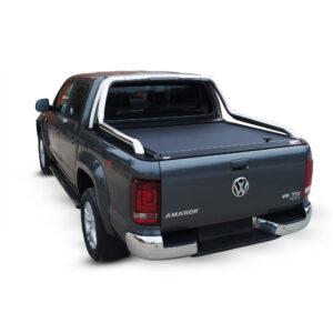 Rulou benă Double Cab negru mat Volkswagen Amarok - '17 - Prezent cu rollbar OEM 2