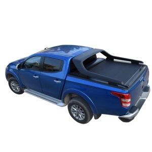 Rulou benă Double Cab negru mat Fiat Fullback '16 - Prezent cu rollbar OEM - 1