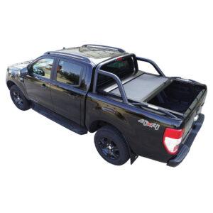 Rulou benă Double Cab negru mat Ford Ranger - '12 - Prezent (Copy) cu rollbar OEM