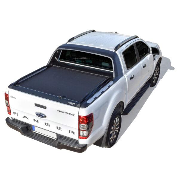 Rulou benă Double Cab negru mat Ford Ranger - '12 - Prezent cu rollbar OEM 2 - 2