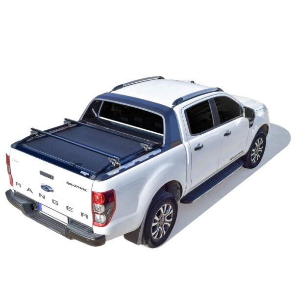 Rulou benă Double Cab negru mat Ford Ranger - '12 - Prezent cu rollbar OEM 2 - 3