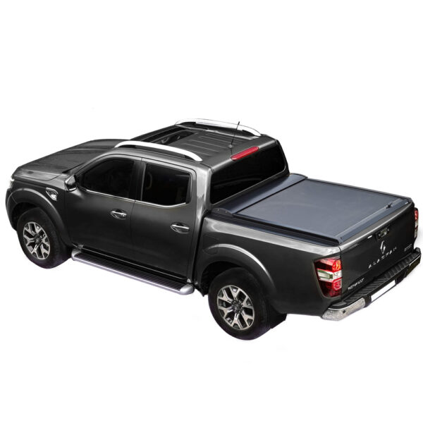 Rulou benă Double Cab negru mat Renault Alaskan - '17 - Prezent