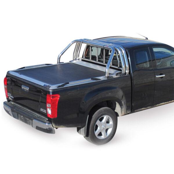 Rulou benă Extra Cab argintiu Isuzu D-Max '03 – '07 - 4