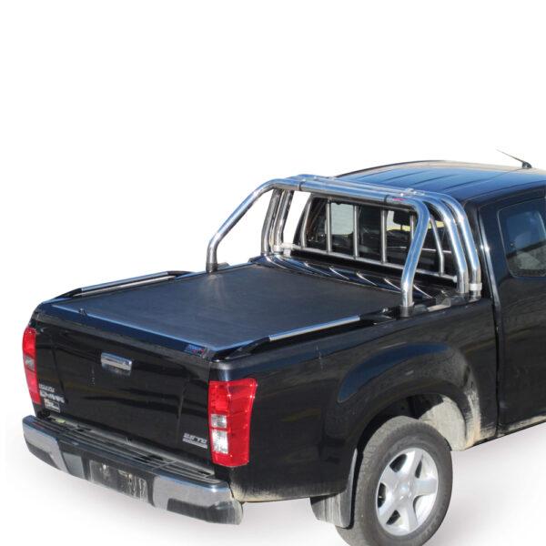 Rulou benă Extra Cab negru mat Isuzu D-Max - '03 – '07 - 4