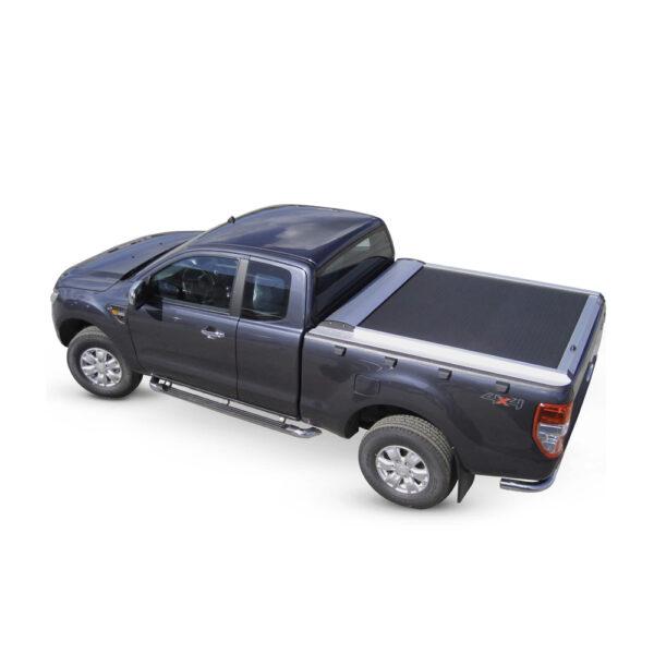 Rulou benă Extra Cab argintiu Ford Ranger - Cabină Extra '98 – '07