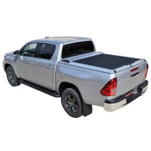 Rulou benă Double Cab argintiu Toyota Hilux - '15 - '20