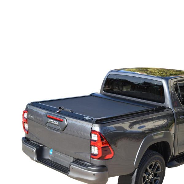 Rulou benă Double Cab negru mat Toyota Hilux - '15 - '20