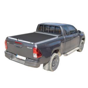 Rulou benă Extra Cab argintiu Toyota Hilux - '15 - '20