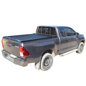 Rulou benă Extra Cab negru mat Toyota Hilux - '15 - '20