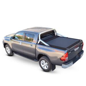 Rulou benă Double Cab negru mat Toyota Hilux - '15 - Prezent cu rollbar OEM 1