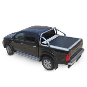 Rulou benă Double Cab argintiu Toyota Hilux - '15 - Prezent cu rollbar OEM 2