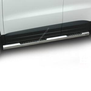 Praguri cu treaptă din Inox - Volkswagen Tiguan '07 - '16