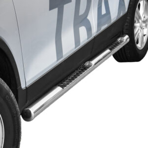 Praguri cu treaptă din Inox - Chevrolet Trax '13 - '17