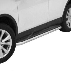 Praguri cu treaptă lată din Inox - Toyota RAV4 '13 - '16