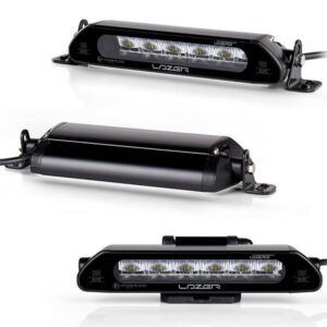 Kit - Proiectoare LED auto Linear 6 + Suport de număr - 2