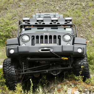 Kit de integrare cu Troliu Alpha 9.5.1 - Jeep Wrangler JK