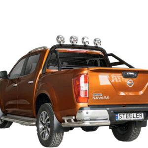 Rollbar OEM Negru Steeler 4x4 - Nissan Navara 15' - Prezent