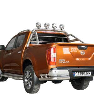Rollbar OEM Steeler 4x4 - Nissan Navara 15' - Prezent