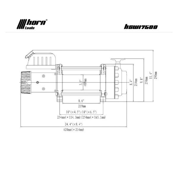 Troliu HornTools Alpha 17.5.1 12V - 8.0 Tone - 4
