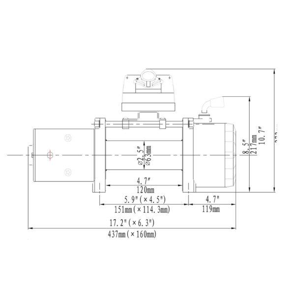 Troliu HornTools Alpha 9.5.1 12V - 4.3 Tone - 4