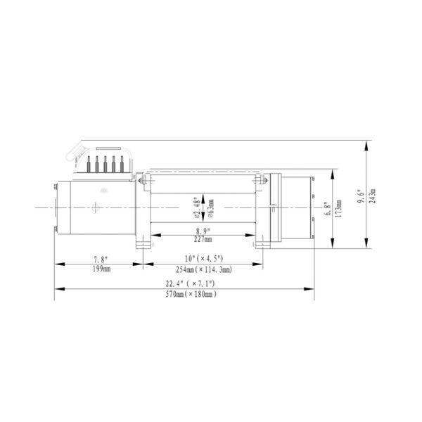 Troliu HornTools Delta 8.0.1 12V - 3.6 Tone - 4