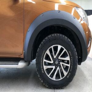 Protecție pentru aripi cu șurub - Nissan Navara 12' - 19'