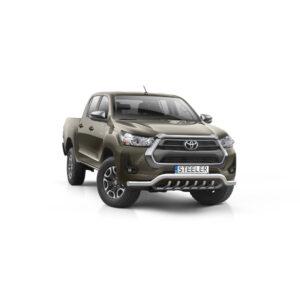 Bullbar Omologat - Low 1 Toyota Hilux '21 - Prezent