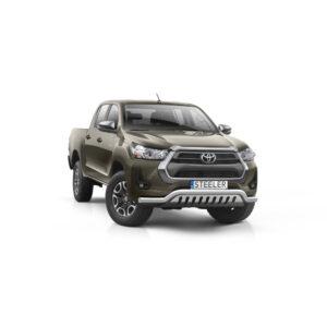 Bullbar Omologat - Low 2 Toyota Hilux '21 - Prezent