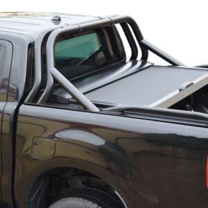 Rollbar Tessera 4x4 two leg Sport - Inox Negru - 1