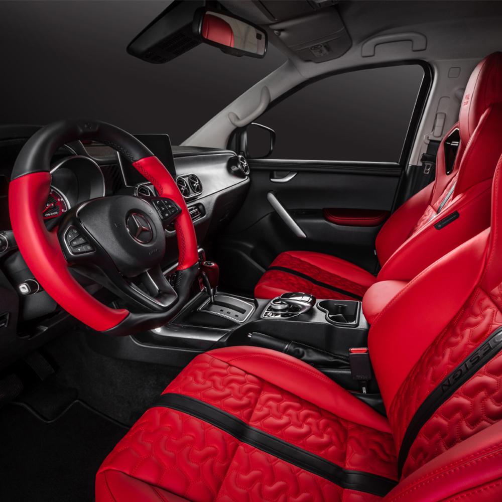 Pachet customizare Pickup Design – Mercedes X-Class EXTREME Final Edition GREY