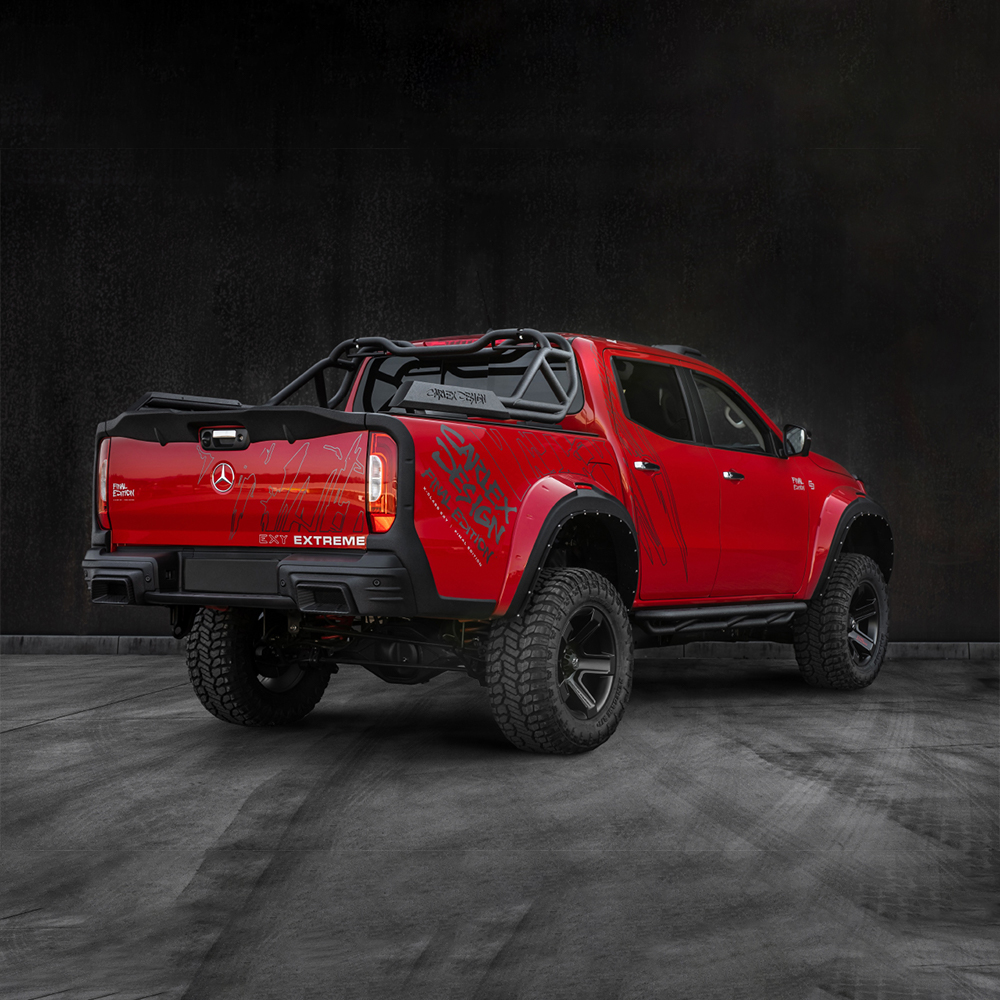 Pachet customizare Pickup Design – Mercedes X-Class EXTREME Final Edition RED
