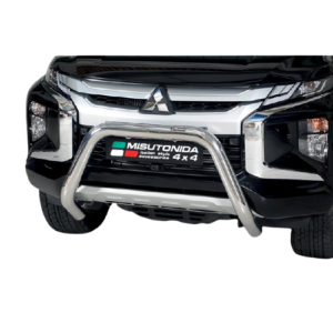Bullbar Omologat - Model 6 Negru Mitsubishi L200 Double Cab