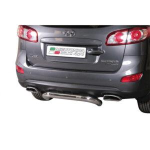 Bară spate - Model 1 Hyundai Santa Fe '10 - '12
