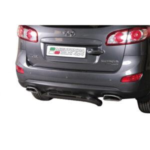 Bară spate - Model 1 Negru Hyundai Santa Fe '10 - '12