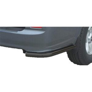 Bară spate - Model 1 Negru Hyundai Terracan '01 - '04