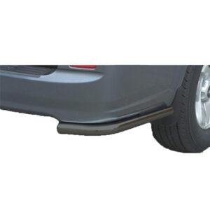 Bară spate - Model 1 Negru Hyundai Terracan '04 - '07