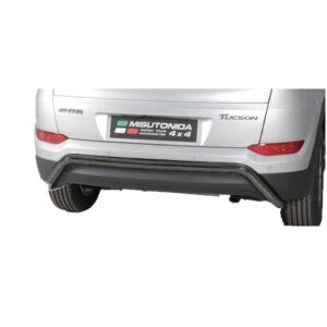 Bară spate - Model 1 Negru Hyundai Tucson '15 - '18
