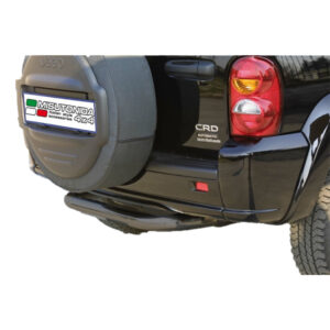 Bară spate - Model 1 Negru Jeep Cheeroke '00 - '07