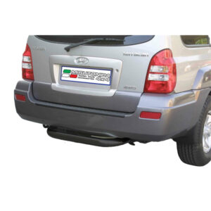 Bară spate - Model 2 Negru Hyundai Terracan '04 - '07